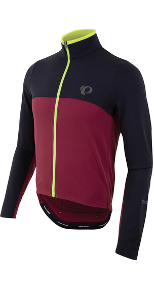 PEARL iZUMi SELECT Thermal Jersey Men Black/Tibetan Red